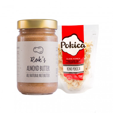 Almond butter smooth 300g & Kino Pokica