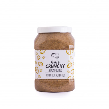 Monthly subscription Almond butter crunchy 2kg