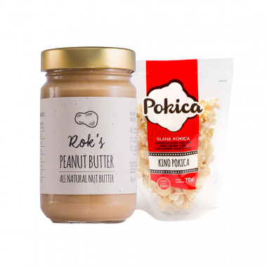 Peanut butter smooth 300g & Kino Pokica