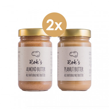 Peanut butter smooth & Almond butter smooth