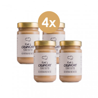 Peanut butter four pack crunchy