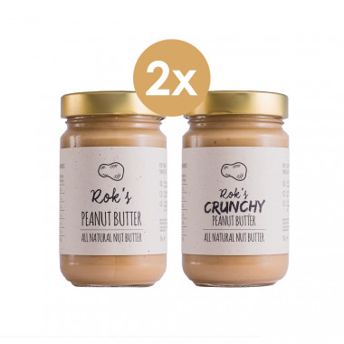 Peanut butter smooth & Peanut butter crunchy