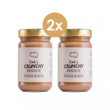 Almond butter two pack crunchy
