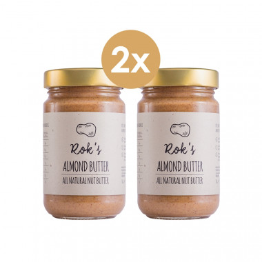 Almond butter two pack smooth