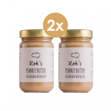 Peanut butter two pack smooth